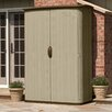 "Suncast 5'10.5"" W x 2'6"" D Resin Storage Shed"