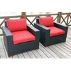 <strong>Pasadina Deep Seating Chair with CushionsSet of 2)</strong> by Bellini Home and Garden
