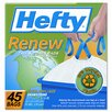 Hefty (45 per Carton) 13 Gallon Hefty Renew Recycled Kitchen & Trash Bags