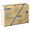 Kleenex Kimberly-Clark Professional Scott Recycled Multifold 1-Ply Hand Paper Towels - 250 Towels per Pack / 16 Packs