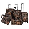<strong>Camo Green 5 Piece Luggage Set</strong> by American Flyer