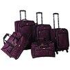 American Flyer Astor 5 Piece Luggage Set