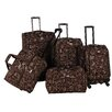 American Flyer Swirl 5 Piece Luggage Set