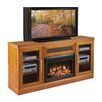 "<strong>Furnitech</strong> Transitional 70"" TV Stand with Electric Fireplace"