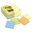 Post-it® 3 x 3, Four Colors, 24 90-Sheet Pads/pack