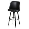 "<strong>Bucket 30"" Swivel Bar Stool with Cushion</strong> by Alston"