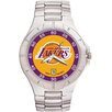 LogoArt® NBA Men's Pro II Bracelet Watch with Full Color Team Logo Dial