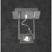 <strong>PLC Lighting</strong> Square 1 Light  Wall Sconce