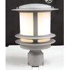PLC Lighting Tusk 1 Light Outdoor Post Lantern