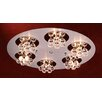 <strong>PLC Lighting</strong> Bolero 18 Light Semi Flush Mount