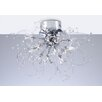 <strong>PLC Lighting</strong> Empire 15 Light Semi Flush Mount