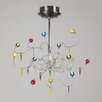 <strong>Nautilus 12 Light Pendant</strong> by PLC Lighting