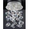 PLC Lighting Bubbles 4 Light Chandelier