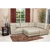 <strong>Donovan Leather Modular Sectional</strong> by Abbyson Living