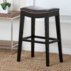 "Abbyson Living Raffia 30"" Bar Stool with Cushion"