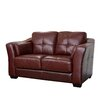 <strong>Abbyson Living</strong> Ashburn Italian Leather Loveseat