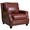 <strong>Abbyson Living</strong> Bel Air Hand Rubbed Leather Armchair