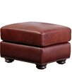Abbyson Living Harbor Leather Ottoman