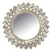 Abbyson Living Grace Round Wall Mirror
