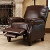 Abbyson Living Cliff Push Back Leather Recliner