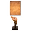 "Bellini Modern Living 17"" H Table Lamp with Rectangular Shade (Set of 2)"