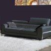 Bellini Modern Living Flynt Leather Sofa