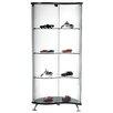 Bellini Modern Living Celeste Curved Curio Cabinet
