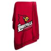 Logo Chairs NCAA University of Louisville Classic Fleece Throw