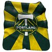 Logo Chairs MLS Portland Timbers Raschel Throw