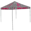 <strong>Alabama Houndstooth 9' H x 9' W x 9' D Canopy</strong> by Logo Chairs