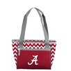 Logo Chairs NCAA Chevron 16 Can Cooler Tote