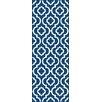 Tayse Rugs Metro Navy Moroccan Tile Area Rug