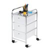 """<strong>25.59"""" 3 Drawer Rolling Cart</strong> by Honey Can Do"""