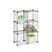 Honey Can Do Modular Mesh Storage Cube (Pack of 6)