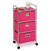 "Honey Can Do 35.5"" 3 Drawer Rolling Cart"