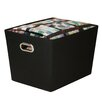 Honey Can Do Large Decorative Storage Bin with Handles