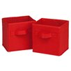 Honey Can Do Mini Fabric Storage Bin (Set of 2)
