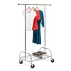 Honey Can Do Garment Rack with Bottom Shelf