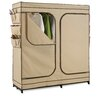 "Honey Can Do 63"" H x 60"" W x 19.7"" D Double Door Storage Closet"