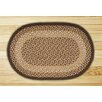 Earth Rugs Chocolate/Natural Rug