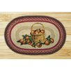 Earth Rugs Apple Basket Novelty Rug