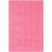 Dash and Albert Rugs Fair Isle Pink/Fuchsia Area Rug