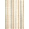 Dash and Albert Rugs Olive Branch Stripe Beige Area Rug