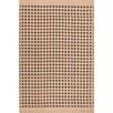 Dash and Albert Rugs Tatami Kraft Paper Brown/Black Area Rug