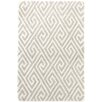 Dash and Albert Rugs Fretwork Grey Area Rug