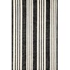 Dash and Albert Rugs Woven Birmingham Black Area Rug