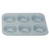 <strong>Fox Run Craftsmen</strong> Non-Stick 6 Cup Fluted Muffin Pan