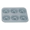 <strong>Fox Run Craftsmen</strong> Non-Stick 6 Cup Fluted Muffin Pan with Center Tube