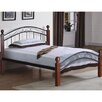 <strong>Hazelwood Home</strong> Sam Metal Wrought Iron Bed