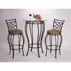 <strong>Hazelwood Home</strong> 3 Piece Pub Table Set